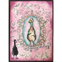 Pink Ink Designs - Nip and Duck A5 Clear Stamp Set